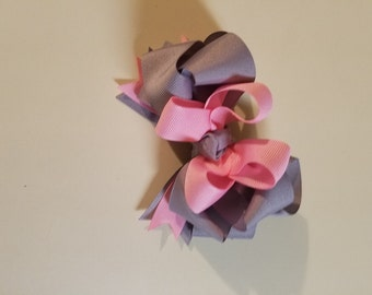 Hairbow, Stacked Boutique Hairbow, Stacked Hairbow