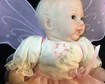 Reborn baby Rae from the Cupcake Fairy sculpt, reborn by NonasRebornAngel
