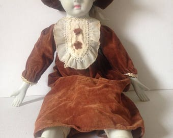 Bisque Doll, Vintage Doll, China Doll, Old Doll, Girl Doll, Collector Doll, Collectible Doll, Dolly, Girl Figurine, Vintage Toy, Collectible