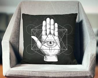 All Seeing Eye Pillow | All Seeing Eye Pillow Case | All Seeing Eye Throw Pillow | All Seeing Eye Pillow Cover | All Seeing Eye Cushion