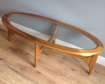 Mid-Century, Teak Coffee Table, Stateroom by Stonehill, 1960s,