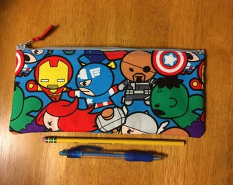Mini Marvel Kawaii Pencil Case / Coin Purse (credit card wallet)