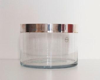 Large bowl Feuron LINO SABATTINI Silver Plated CHRISTOFLE icebucket Gio Ponti