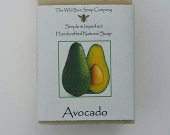 Avocado Soap, Soap, Bar Soap, Natural Soap,  Bath Soap, Bath & Body Soap, Mother's Day Gift