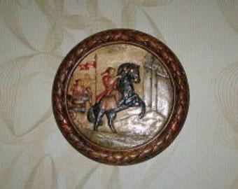 panels Zaporizhia Cossack on horse, 30 cm, wooden panels, sul'ptura, hand-carved, handmade