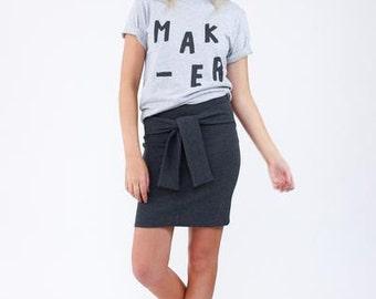 Axel Skirt-Megan Nielsen Patterns-Fitted Skirt-Mid Length Skirt-Knee Length Skirt-Pencil Skirt-Womans Skirt-Skirt Pattern-Paper Pattern