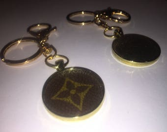 Louis Vuitton Recycled Key Chain Bag Charm Authentic