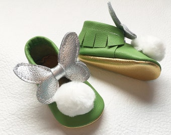 Tinker Bell Moccasins