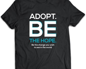 Adoption T-Shirt. Adoption tee present. Adoption tshirt gift idea. - Proudly Made in the USA!