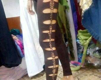handmade pixie cut leggings