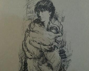 Original Signed Portrait Print