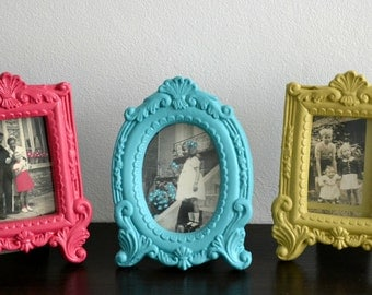 Vintage photo frame photograph old decoration child family
