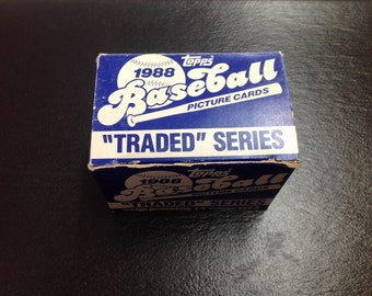 1988 topps baseball picture cards