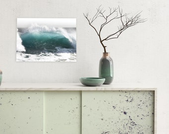 Wave Photography, Rolling Wave, Crystal Cove Wave, Ocean Photography, Nature Landscape