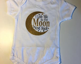 Love You to the Moon and Back Onesie