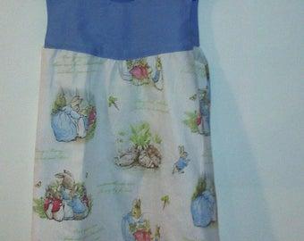 Peter Rabbit  dress.