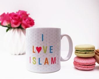 I love Islam Islamic Dua Mug