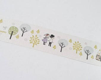 Washi tape Hansel and Gretel forest