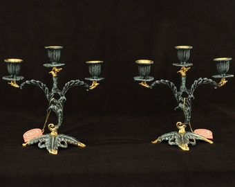 Candle Holders (Hand Painted)
