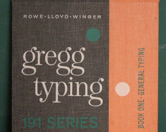 Sale! Gregg Typing Textbook