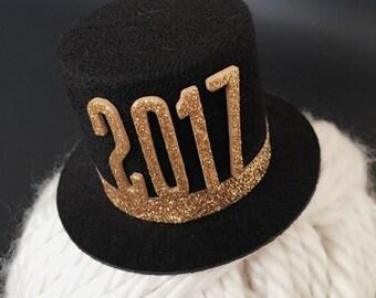 SALE!!!,Newborn Top hat,2017 Newborn Top hat,Baby Top Hat,Baby Hat Headband,Lincoln hat,first birthday hat,snowman hat,newborn photo prop