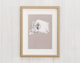 OWL illustration   Macaroom Kids