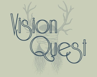 Vision Quest - The fusion of a guided meditation and psychic reading that unlocks your intuition and reveals your inner guide (Audio)