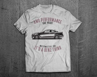 Mercedes AMG Shirts, Mercedes t shirts, C63 shirts, Cars shirts, men t shirt, women t shirt, funny shirts, muscle car shirts, Benz t shirts