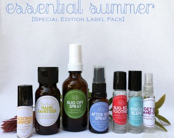 ESSENTIAL SUMMER Special Edition Label Pack