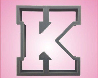 Varsity Letter K Cookie Cutter