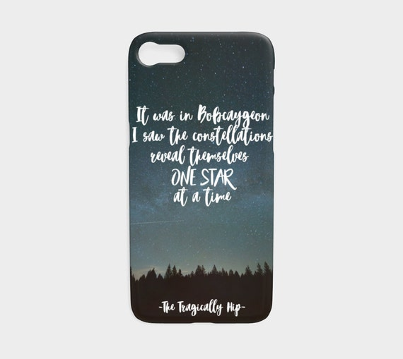 The Tragically Hip, smart phone case, iPhone case, Samsung case, the hip, Gord Downie, Bobcaygeon