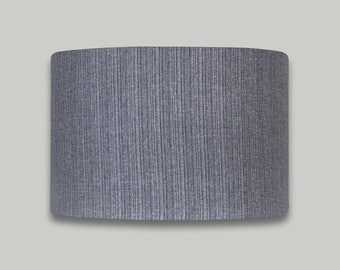 Solar Silver Grey Drum Lampshade Lightshade Lamp Shade 20cm 25cm 30cm 35cm 40cm 50cm 60cm 70cm