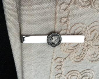 Vintage KODAK silver tie bar, silver tone tie clip, vintage KODAK tie clip,  KODAK Tie Clip, silver vintage tie bar C43