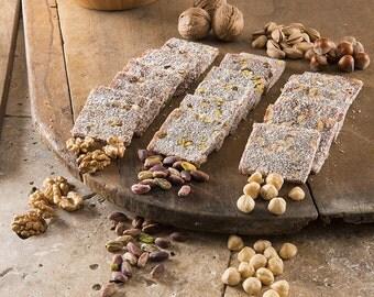 Mixed Turkish Delight / CEZERYE (500 grams) Pistachio & Walnut and Hazelnut
