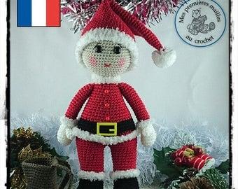 Pattern / Tuto Elliott fête Noël