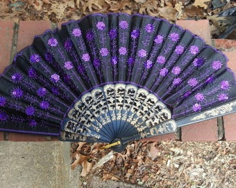 Various Decorated Oriental Fans