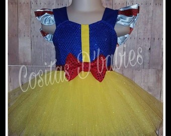Snow White Baby Romper