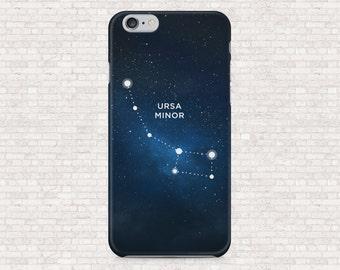 Ursa Minor constellation iphone case - iPhone constellation case - iPhone 7, iPhone 6, iPhone 5, iPhone 4, iPhone SE, iPhone 7plus, iPhone 6