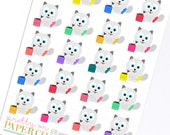 Baymax Takes out the Trash - Planner Stickers