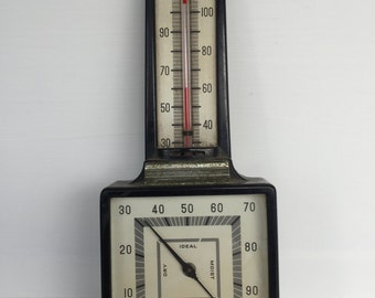 Airguide Barometer with Temperature and Humidity USA