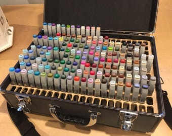 Copic Marker Refill Storage Organizer for Copic Art Carrying Case (Insert Only)