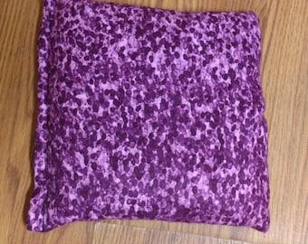 "Corn Heating Bag- Purple Haze- Heating Pad- Ice Pack- Microwavable - Freezable- Approx 8"" x 10"""