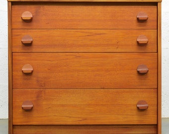 Mid-Century Vintage Retro Teak Chest of Drawers by Stag