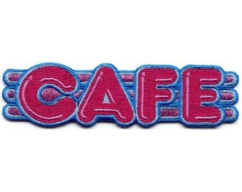 "50's Retro Cafe Sign 4 1/4"" x 1 1/4"" Free Shipping by C & D Visionary P-3612"