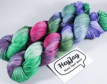 4ply Hand Dyed Yarn Superwash Merino Dawn