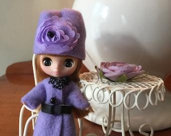 Custom Petite Blythe Fleece Coat and Hat