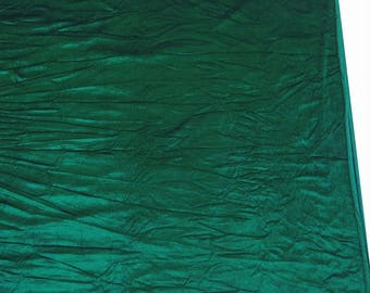 """Decorative Fabric, Stretchy Velvet, Green Velvet Fabric, Sewing Accessories, 60"""" Inch Wide Fabric By The Yard ZVE44"""