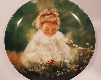 "Pemberton and Oakes Plate ""Spring Innocence"" by Donald Zolan"