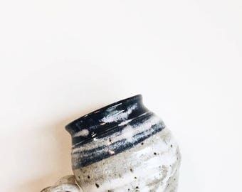 Pottery Coffee Mug / Vintage Coffee Mug / Coffee Mug / blue Mug / handmade coffee mug / indigo mug