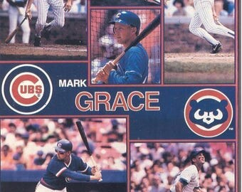 "Mark Grace Chicago Cubs Giant Poster 42"" X 58"""